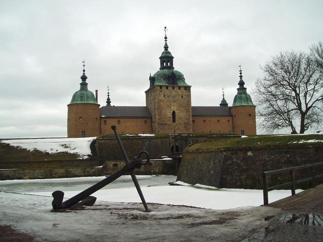 スウェーデンのカルマール刑務所−フォトライブラリー